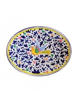 Oval Platter, Sberna Deruta...